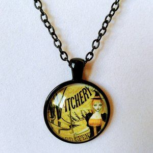 Witchery Witch Cabochon Necklace